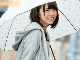 生田みく『AVに出ちゃいます…♡』貧乳お姉さんが巨根男優とAVデビュー企画wJKコスプレで激イキ