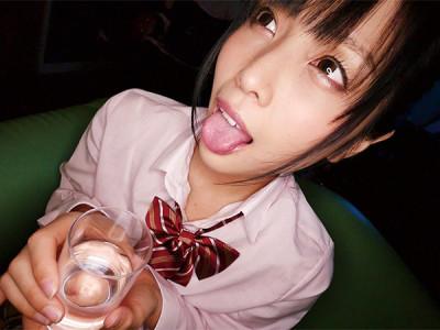 【美少女JK】女子高生お姉さんが媚薬で発情!制服着衣でキメセクww