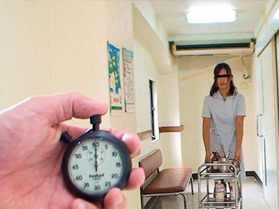 【ナース時止め】看護師お姉さんの時間を止めてイタズラ即ハメw